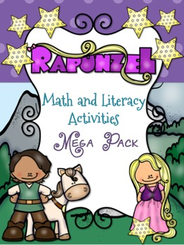 Rapunzel Themed Math and Literacy Mega Pack {100+Pages}