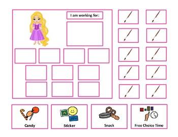 Rapunzel 10 Token Board