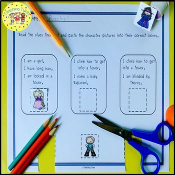 Rapunzel Fairy Tales Worksheets Activities Games Printables and More