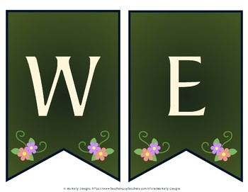 Rapunzel Welcome Banner for Classroom