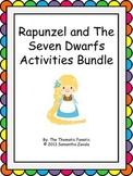 Rapunzel and The Seven Dwarfs Activity Bundle
