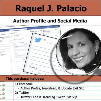 Raquel J. Palacio - Author Study - Profile and Social Media
