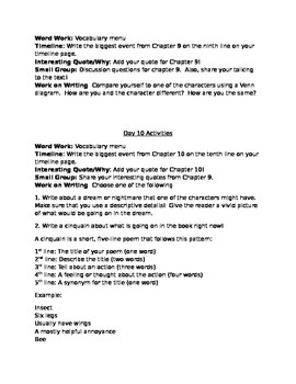 Rascal Guided Reading Packet