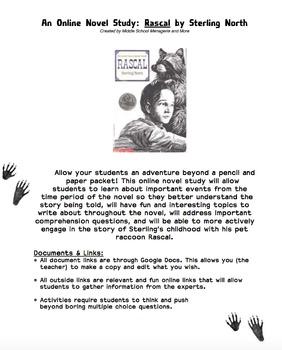 Rascal: An Online Interactive Novel Study