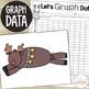 Rascally Reindeer:  A GLYPH & GRAPH Math Activity for Christmas