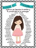 Rasgos del personaje, Character Traits, Spanish
