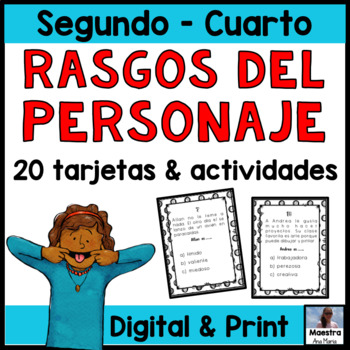 Rasgos del personaje - Character Traits in Spanish