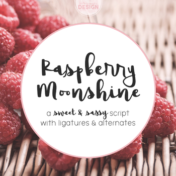 Raspberry Moonshine Font for Commercial Use