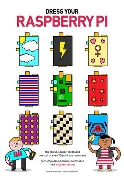 Raspberry Pi Poster - Design a Case - High Quality