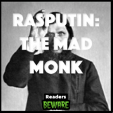 Rasputin: The Mad Monk - Short Story and Comprehension Activities