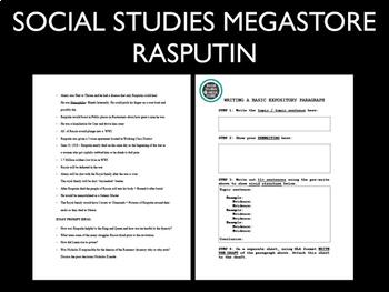 Rasputin Video Guide