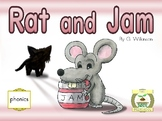 Early reader Rat and Jam - Reading Sprouts - Level 1 begin