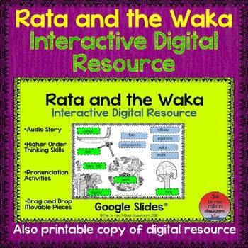 Rata and the Waka Digital Reading Resource
