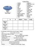Ratatouille Film Guide with worksheets in Spanish - 7 week unit