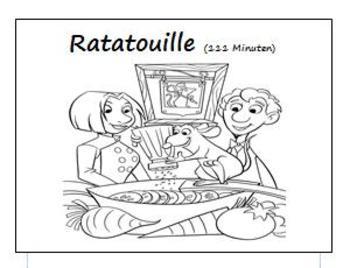 Ratatouille (German) Comprehension booklet
