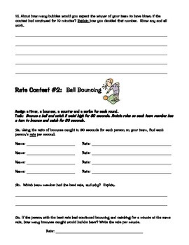 Rate Contests