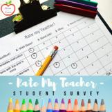 Rate My Teacher Survey