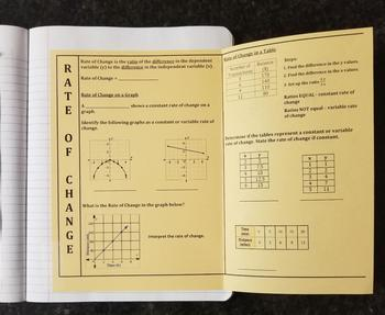 Rate Of Change for Interactive Notebooks