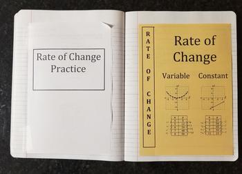 Rate Of Change (Foldables)