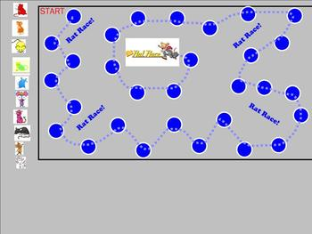 Rate Race Smartboard Game