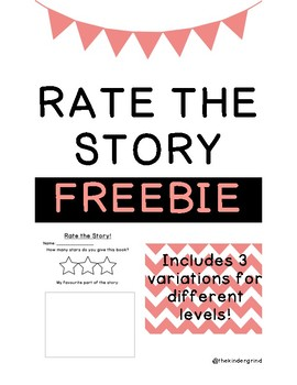 Rate The Story Freebie