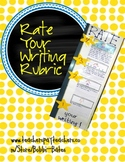 Rate Your Writing Classroom Display