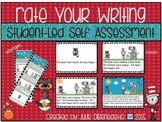 Rate Your Writing!  Student-Led Writing Self Assessment Tool
