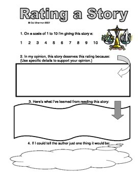 Rate a Story Graphic Organizer