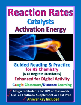 Reaction Rate, Activation Energy, Catalysts:  Essential Skills Lesson #37