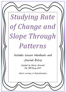 Rate of Change: Pattern Blocks
