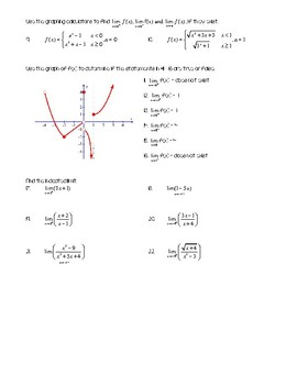 Rate of Change and Limits Notes #2