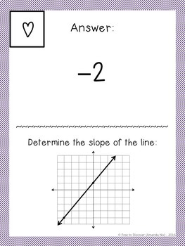 Rate of Change and Slope Activity - Scavenger Hunt