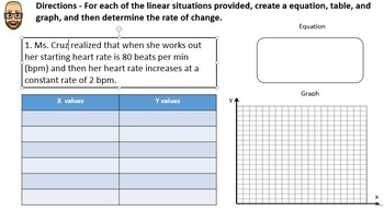 Rate of Change in the Real World - PowerPoint Lesson and Printables!