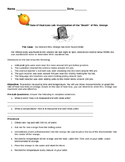 Rate of Heat Loss Lab - Investigation of the Death of Mrs.Orange