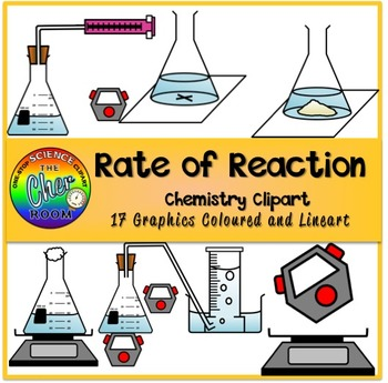 Rate of Reaction Clipart (Chemical Reactions)