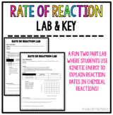 Rate of Reaction Lab