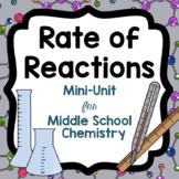 Rate of Reactions Mini-Unit