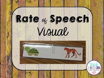 Rate of Speech Visual
