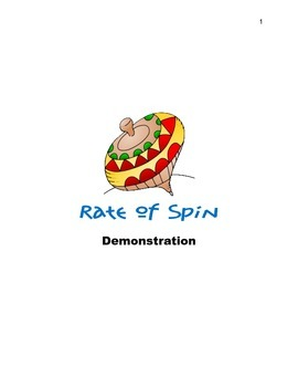 Rate of Spin Demonstration