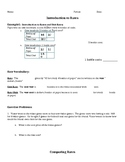 Rates: 6th grade Math