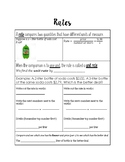 Rates Notes Page
