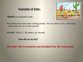 Rates Powerpoint