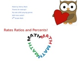 Rates, Ratios, Percents Task cards.