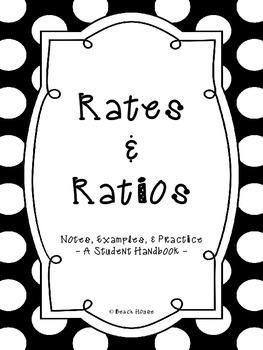 Rates & Ratios Student Handbook