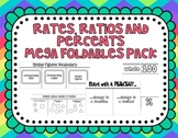 Rates, Ratios & Percents Foldables