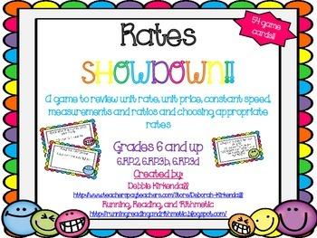 Rates Showdown Game