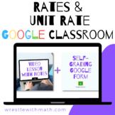Rates & Unit Rate - (Google Form & Video Lesson!)