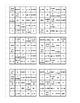 Rates and Proportionality Bingo