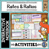 Ratios and Unit Rates Interactive Notebook