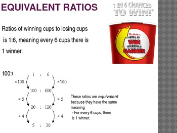 Rates and Ratios- Intermediate math